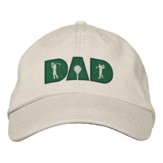 Golf Dad Golfing Sports Cap