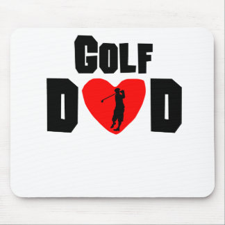 Golf Dad Mouse Pads