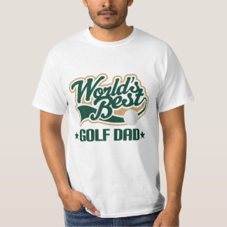 Golf Dad (Worlds Best) Mens tshirt