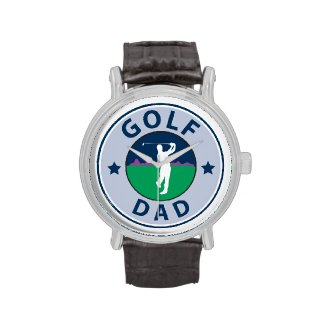 Golf Dad Wristwatch