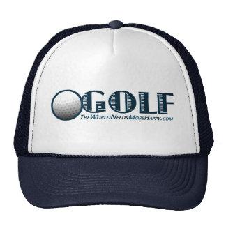 Golf-Dark Blue Trucker Hat