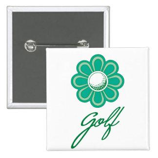 Golf de Flowerboom Pin Cuadrado