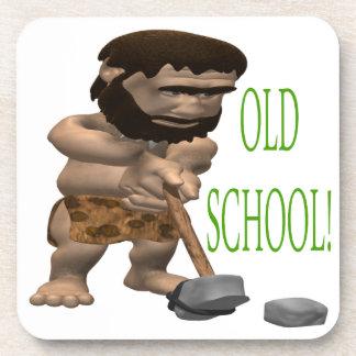 Golf de la escuela vieja posavasos