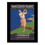 Golf de la isla de Vancouver cada día del año Tarjeta Postal