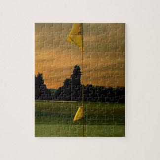 Golf de la madrugada rompecabezas con fotos