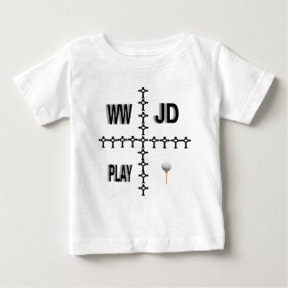 Golf de WWJD T-shirts