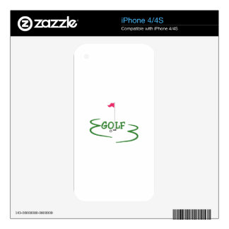 Golf Decals For The iPhone 4S