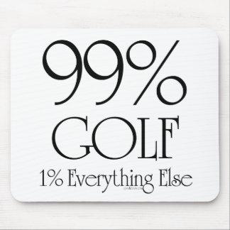 Golf del 99% tapetes de raton