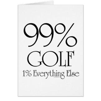 Golf del 99 tarjeta