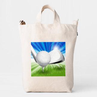 Golf del bolso del pato de BAGGU Bolsa De Lona Duck
