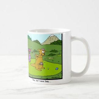 Golf del canguro taza