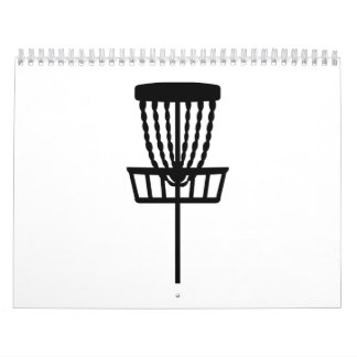 Golf del disco calendarios