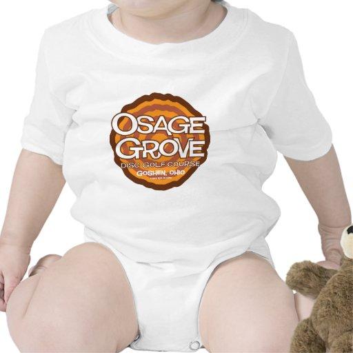 Golf del disco de la arboleda de Osage Traje De Bebé
