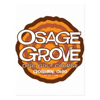Golf del disco de la arboleda de Osage Tarjeta Postal