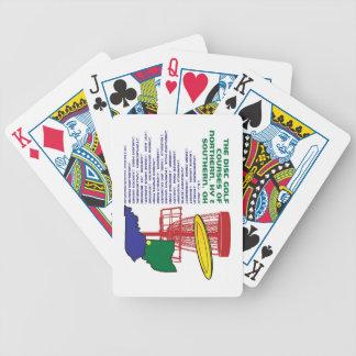 Golf del disco de Ohio Kentucky Baraja Cartas De Poker