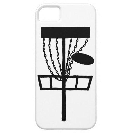 golf del disco en las cadenas iPhone 5 carcasa