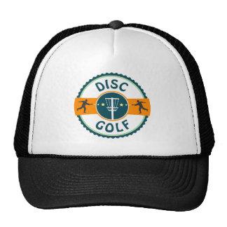 Golf del disco gorras de camionero