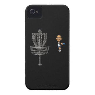 Golf del disco iPhone 4 Case-Mate carcasa