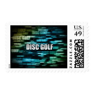 Golf del disco sello