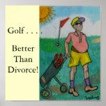 Golf del hombre, impresiones