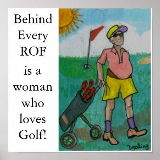 Golf del hombre, posters