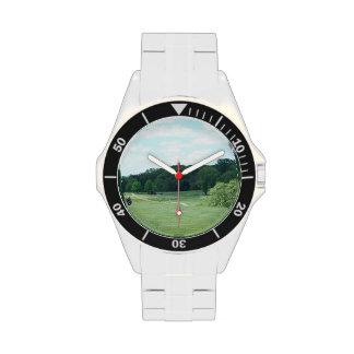 Golf del juego relojes de pulsera