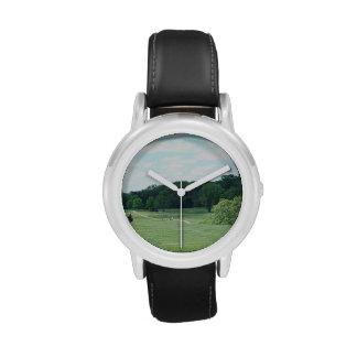 Golf del juego reloj de mano