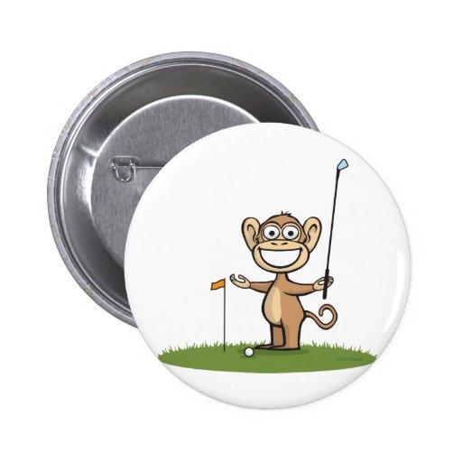 Golf del mono pin