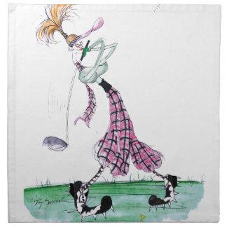 golf del pleno auge, fernandes tony servilletas de papel