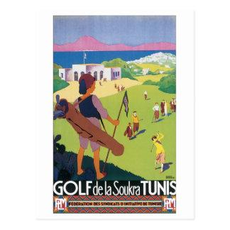 Golf del Soukra Túnez Postal