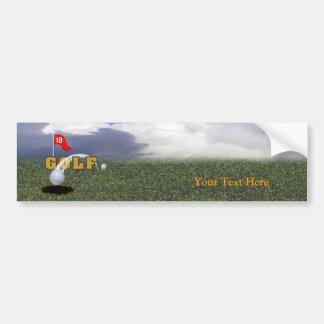 Golf Design #2 Bumper Stickers