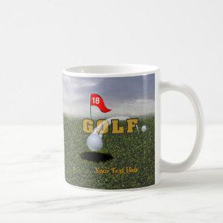 Golf  Design #2 Classic White Coffee Mug