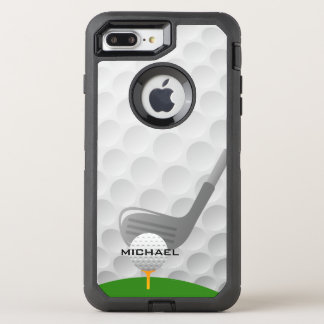 Golf Design Otter Box OtterBox Defender iPhone 8 Plus/7 Plus Case