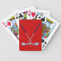 Golf  Design Playing Cards