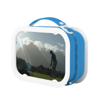 Golf Designs Lunch Boxes