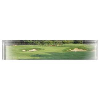Golf Designs Name Plate