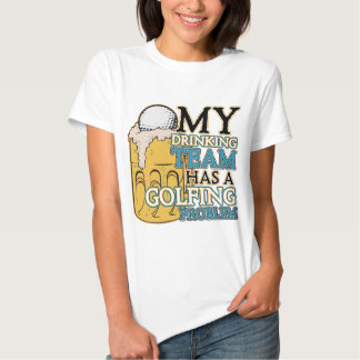 Golf Drinking Team T-shirts