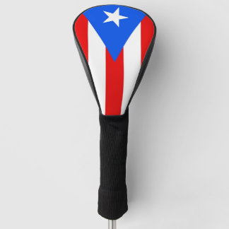 Golf Driver Cover with Flag of Puerto Rico, USA