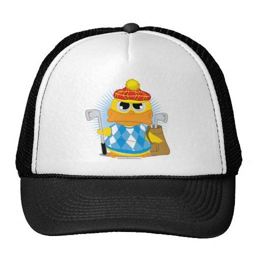 Golf Duck Trucker Hat