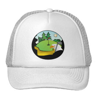 Golf Eagle Trucker Hat