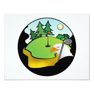 Golf Eagle Personalized Invite