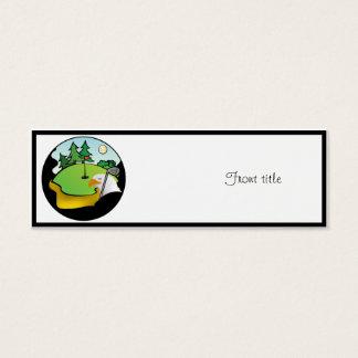 Golf Eagle Mini Business Card