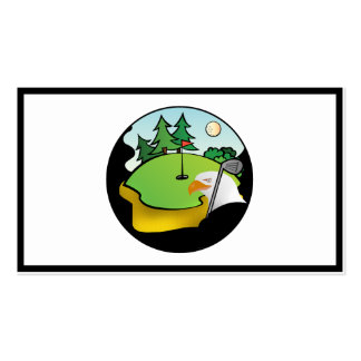 Golf Eagle Tarjetas De Visita