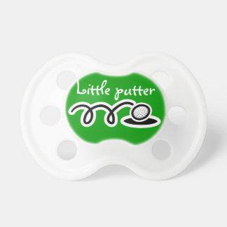 Golf el pacificador del bebé del tema/el soother/e chupetes para bebés