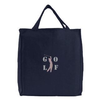 Golf Embroidered Bag