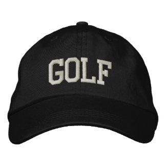 GOLF EMBROIDERED BASEBALL CAP