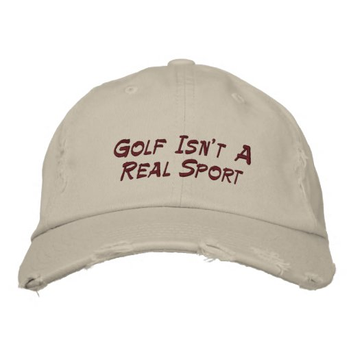 Golf Embroidered Hats