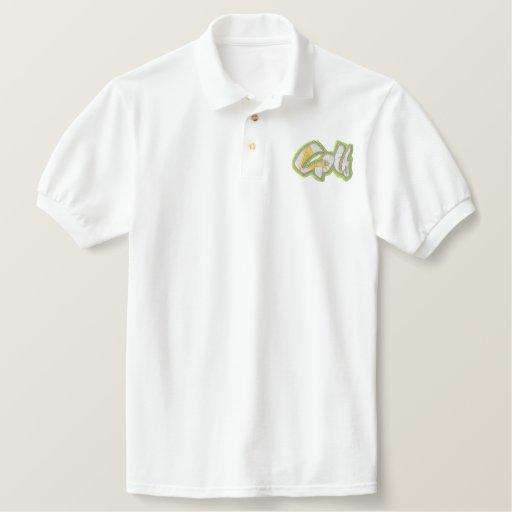 Golf Embroidered Polo Shirt
