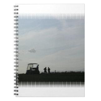 Golf en el cuaderno de la oscuridad