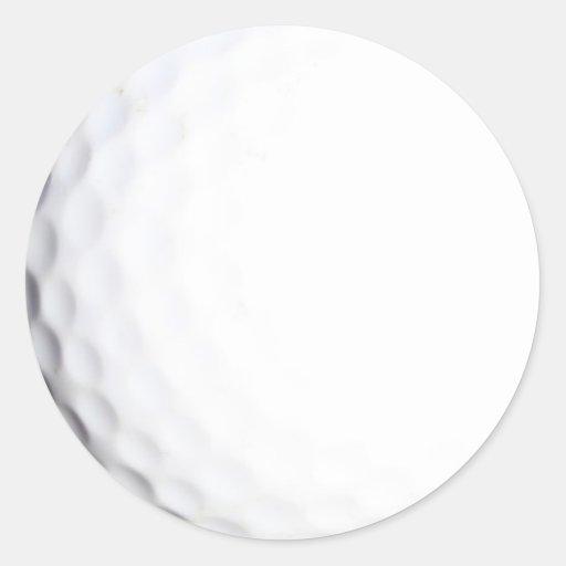 Golf Etiqueta Redonda
